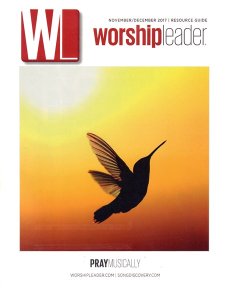 Worship Leader Magazine Cover - 11/1/2017