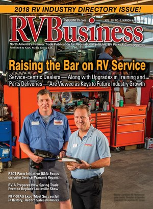 RV Business Magazine | 3/1/2018 Cover