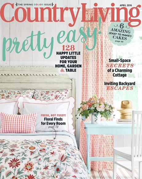 Country Living Cover - 4/1/2016