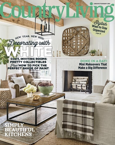 Country Living Cover - 1/1/2016