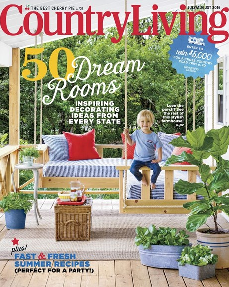 Country Living Cover - 7/1/2016