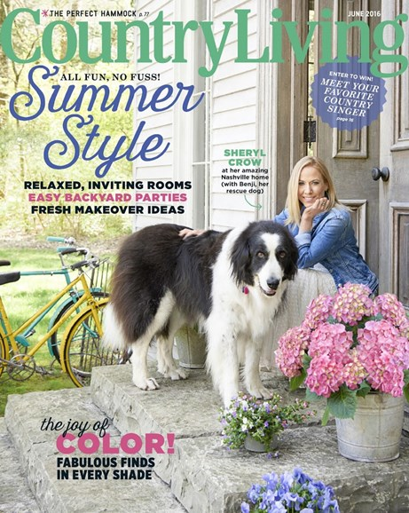 Country Living Cover - 6/1/2016