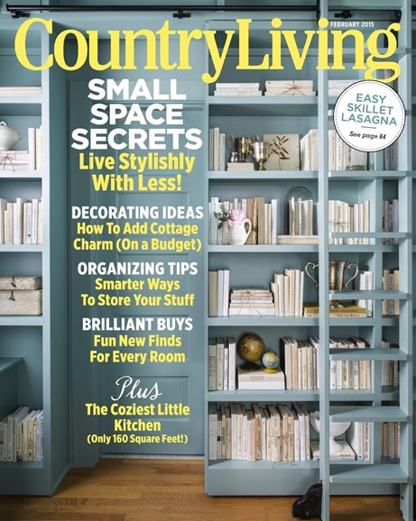 Country Living Cover - 2/1/2015