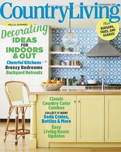 Country Living Cover - 7/1/2015