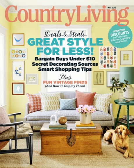 Country Living Cover - 5/1/2015