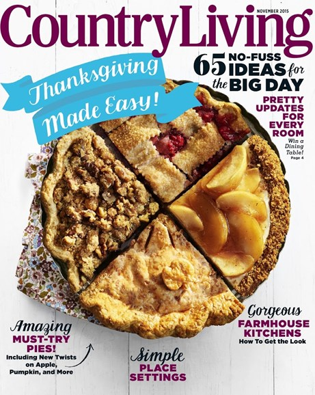 Country Living Cover - 11/1/2015