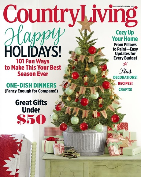 Country Living Cover - 12/1/2014