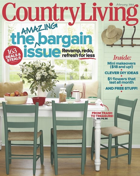 Country Living Cover - 2/1/2014