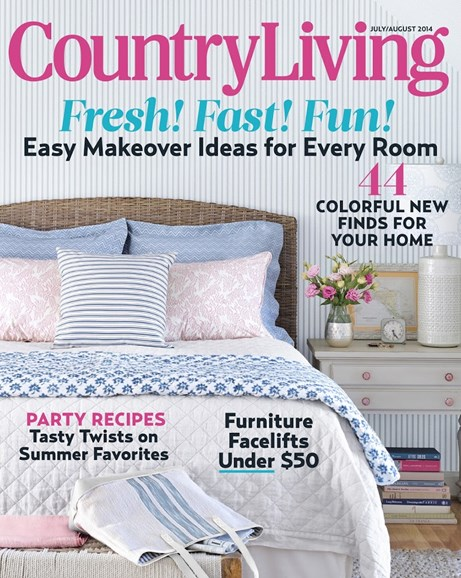 Country Living Cover - 7/1/2014
