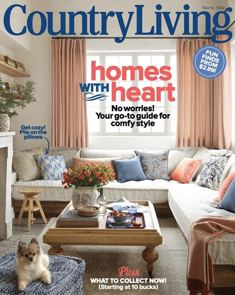 Country Living Cover - 3/1/2014