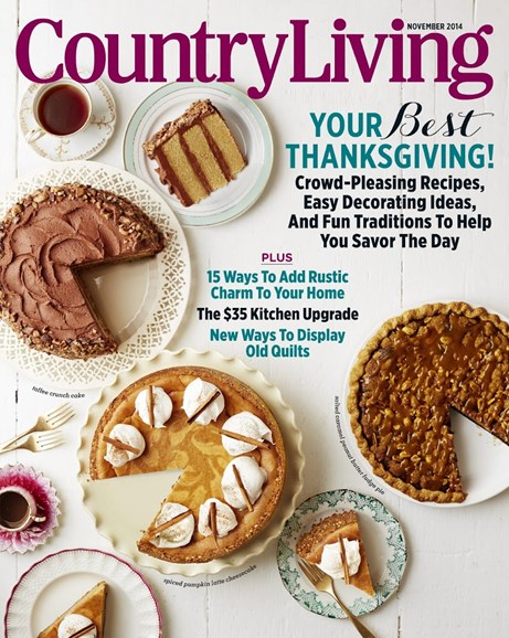 Country Living Cover - 11/1/2014