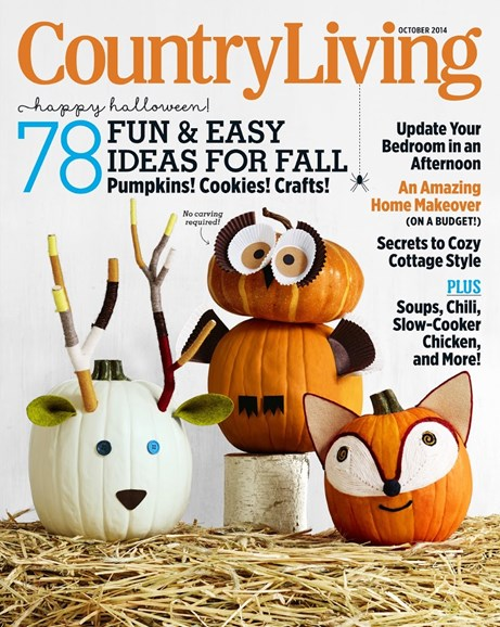 Country Living Cover - 10/1/2014