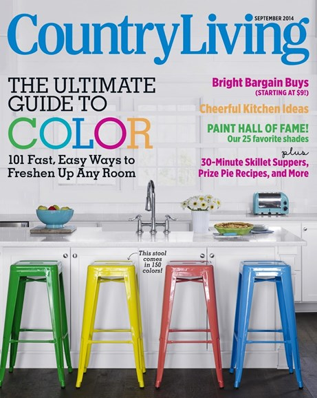 Country Living Cover - 9/1/2014