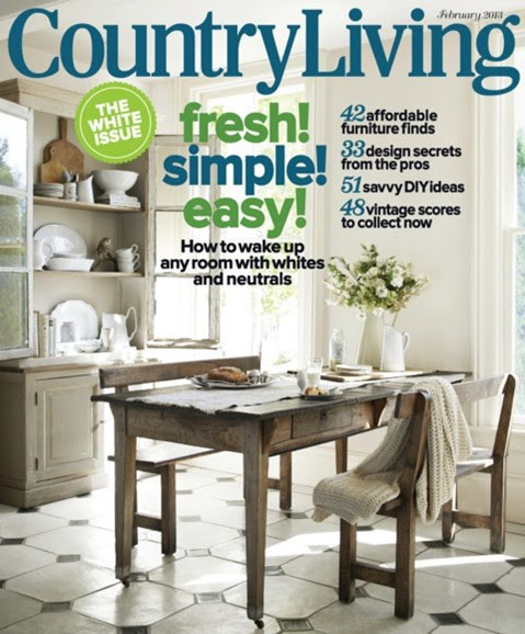 Country Living Cover - 2/1/2013