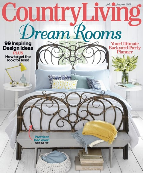 Country Living Cover - 7/1/2013
