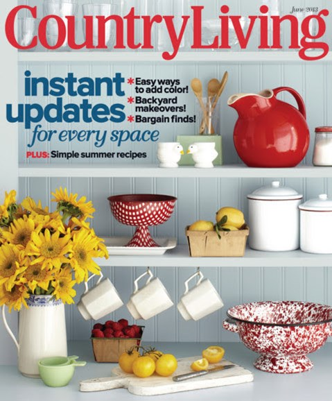 Country Living Cover - 6/1/2013