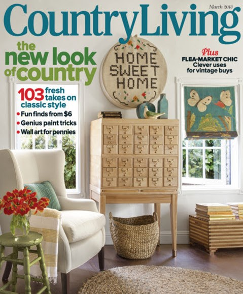 Country Living Cover - 3/1/2013