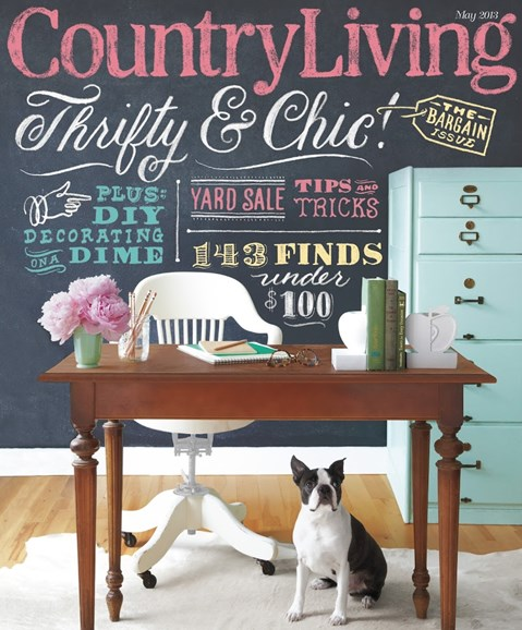 Country Living Cover - 5/1/2013