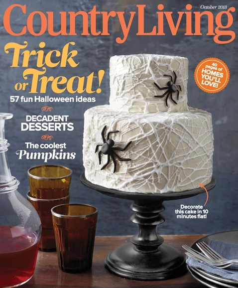 Country Living Cover - 10/1/2013
