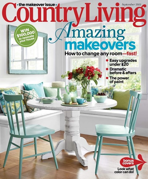 Country Living Cover - 9/1/2013