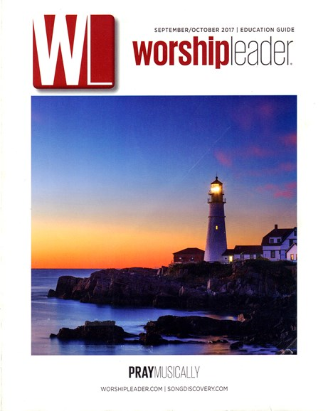 Worship Leader Magazine Cover - 9/1/2017
