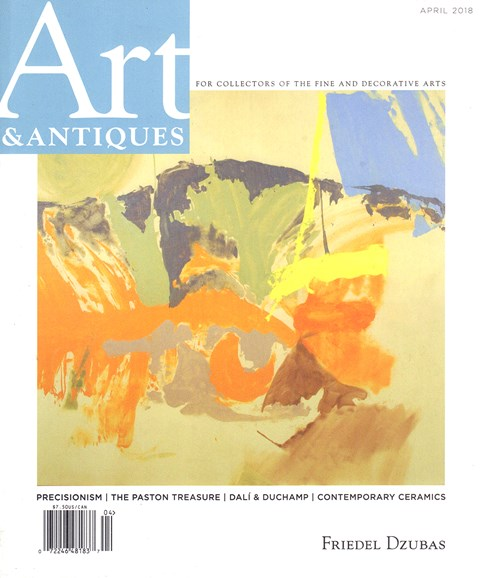Art & Antiques Cover - 4/1/2018