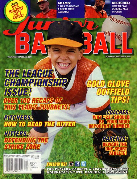 Junior Baseball Cover - 11/1/2017
