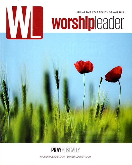 Worship Leader Magazine Cover - 3/1/2018