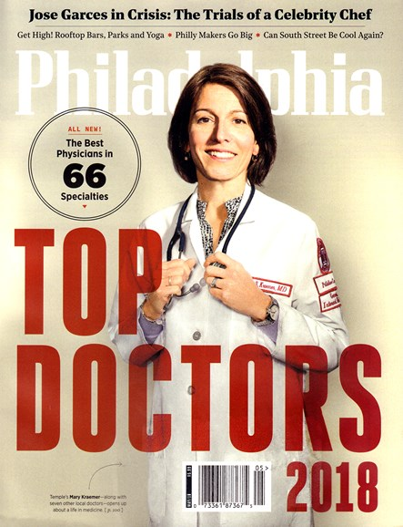 Philadelphia Magazine Cover - 5/1/2018