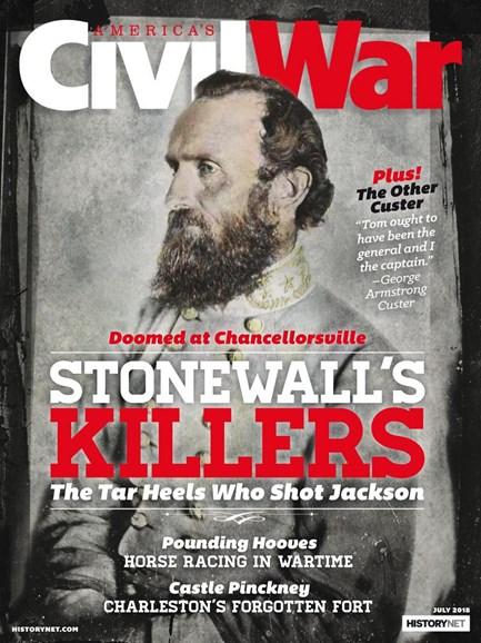 America's Civil War Cover - 7/1/2018