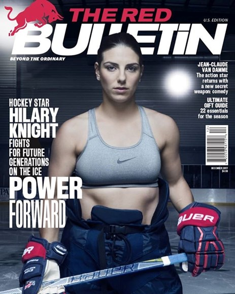 The Red Bulletin Cover - 12/1/2017
