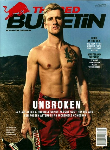The Red Bulletin Cover - 4/1/2018