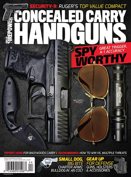 Concealed Carry Handguns Cover - 6/1/2018