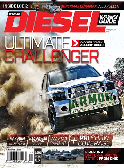 Ultimate Diesel Builder's Guide Cover - 4/1/2018
