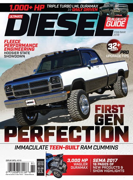Ultimate Diesel Builder's Guide Cover - 2/1/2018