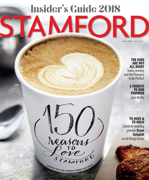 Stamford Magazine Cover - 5/1/2018