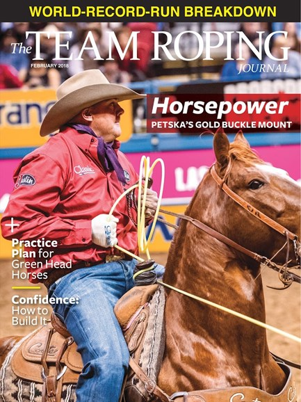 The Team Roping Journal Cover - 2/1/2018