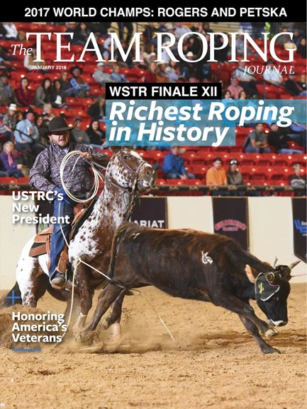 The Team Roping Journal Cover - 1/1/2018