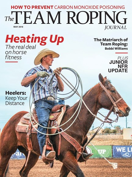 The Team Roping Journal Cover - 5/1/2018