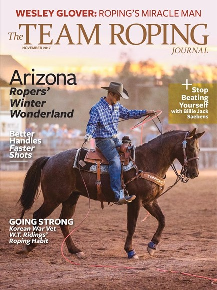 The Team Roping Journal Cover - 11/1/2017