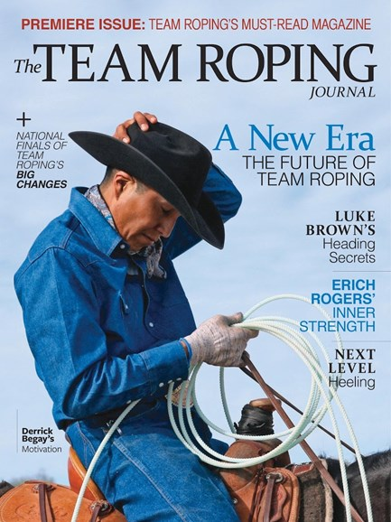 The Team Roping Journal Cover - 9/1/2017