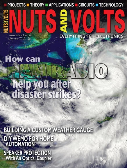 Nuts & Volts Cover - 1/1/2018
