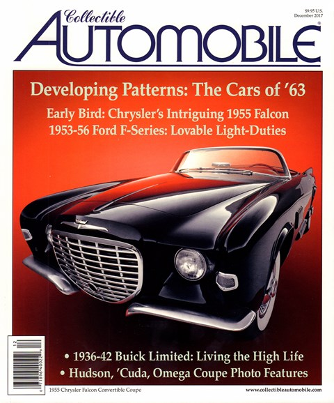 Collectible Automobile Cover - 12/1/2017