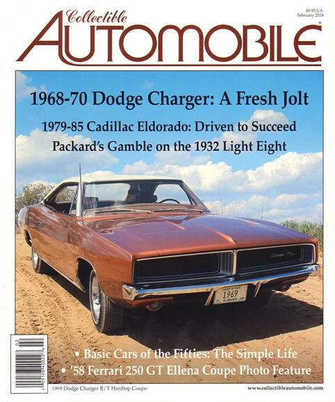 Collectible Automobile Cover - 2/1/2018