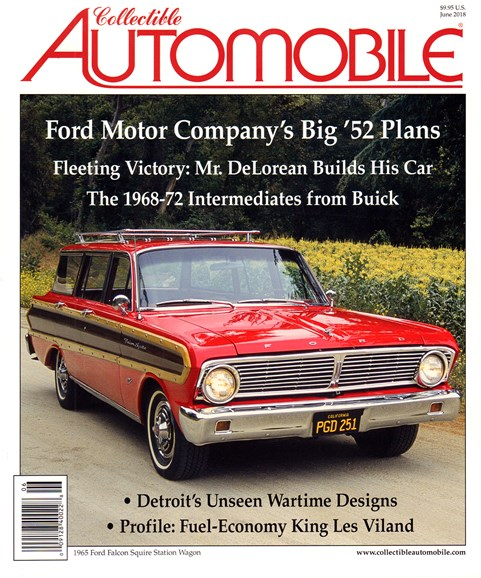 Collectible Automobile Cover - 6/1/2018