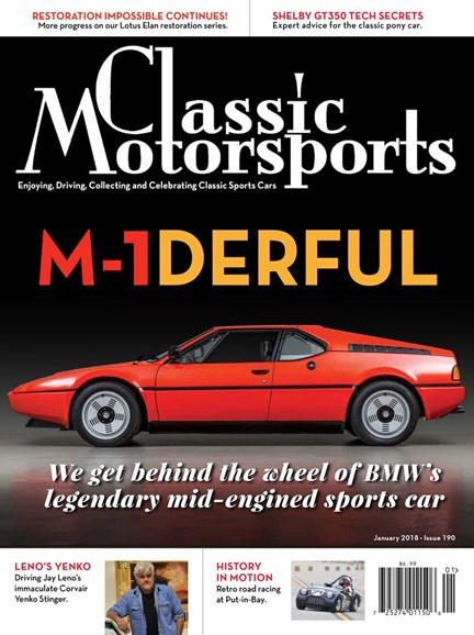 Classic Motorsports Cover - 1/1/2018