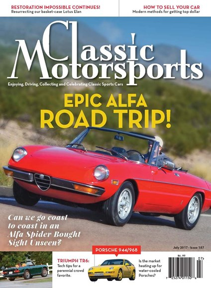 Classic Motorsports Cover - 7/1/2017