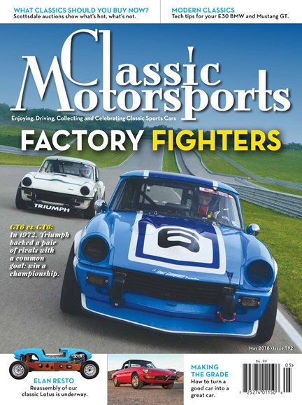 Classic Motorsports Cover - 5/1/2018