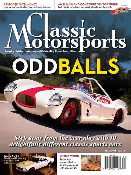 Classic Motorsports Cover - 3/1/2018