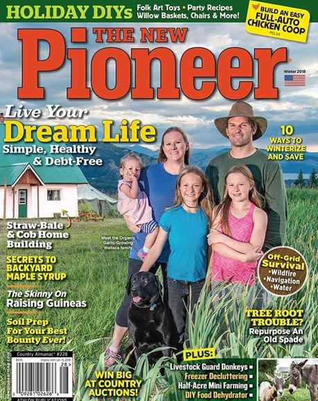 The New Pioneer Cover - 1/1/2018